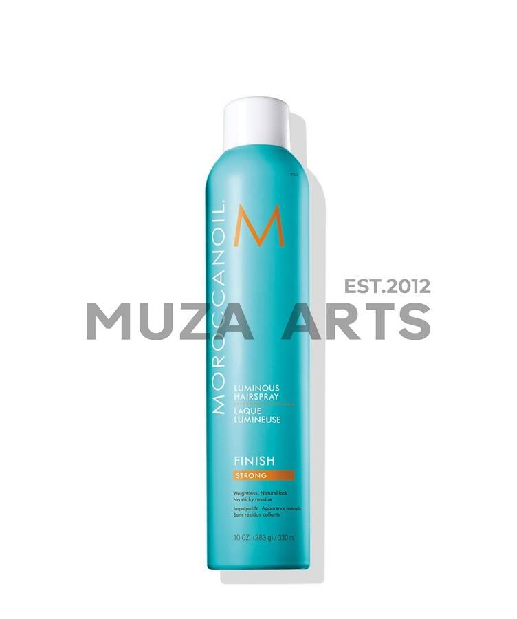 Сияющий лак для волос сильной фиксации Moroccanoil